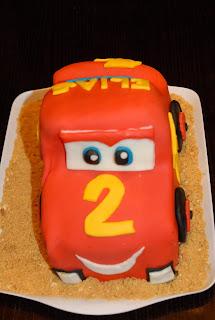 lynet bilen kake