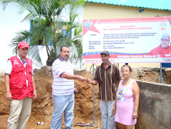 Entrega de Tres Viviendas Refaccionadas por la Direccion de Ingenieria Municipal