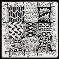 I love Zentangle!