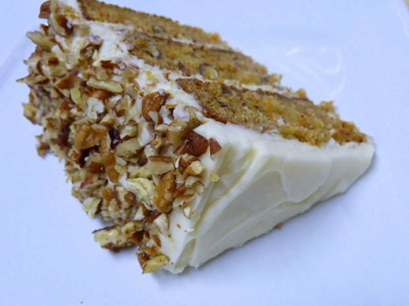 Cookin' Cowgirl: Pineapple Carrot Cake with Cream Cheese Frosting