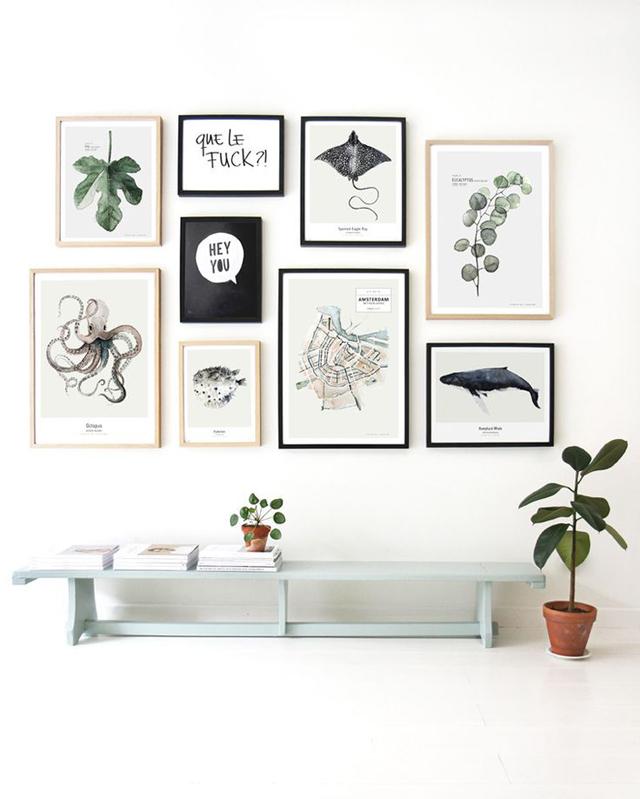 Decorar con cuadros La Garbatella blog de decoracin estilo