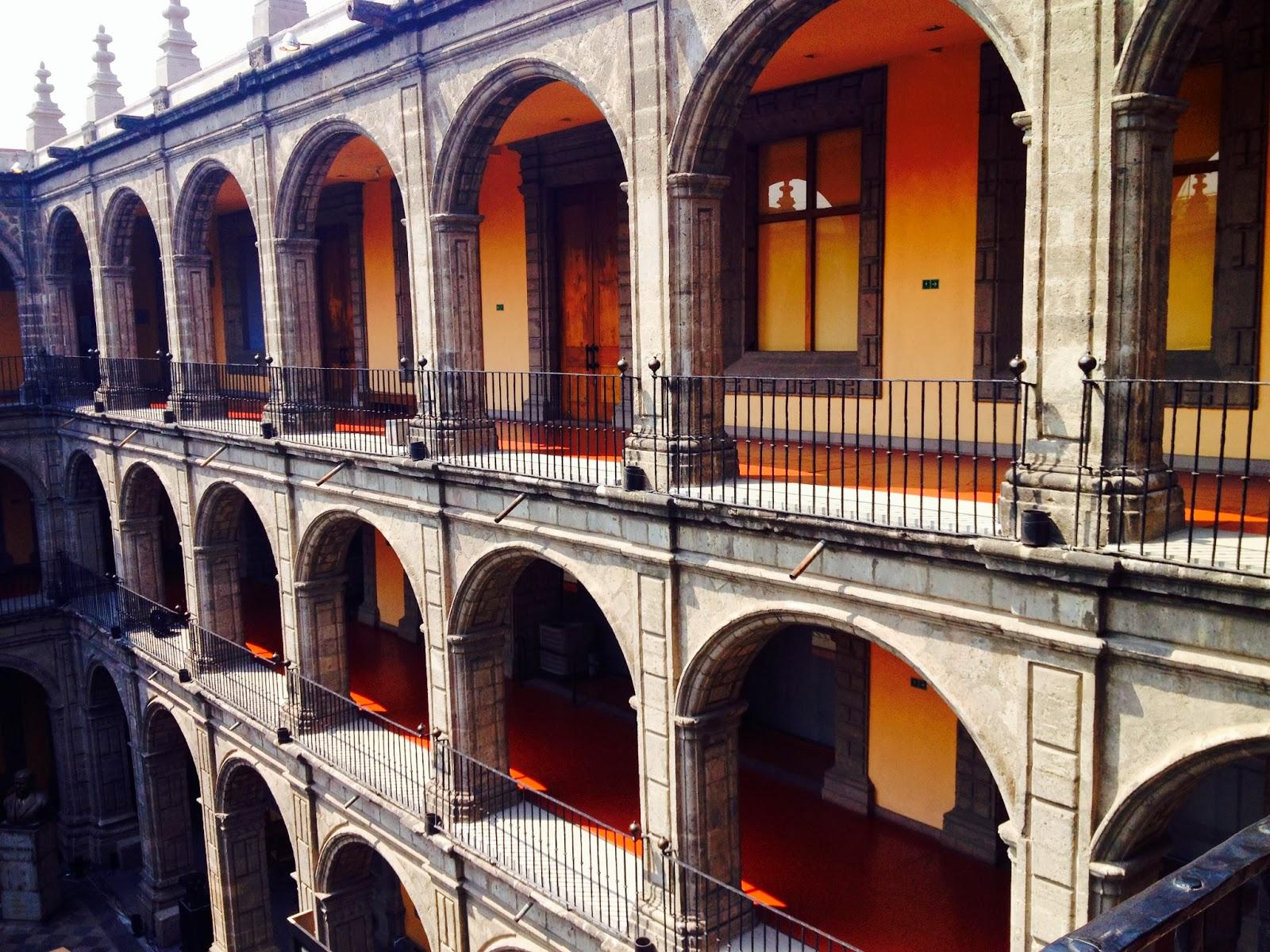 D couvrir le berceau du muralisme mexicain l 39 ancien for Muralisme mexicain