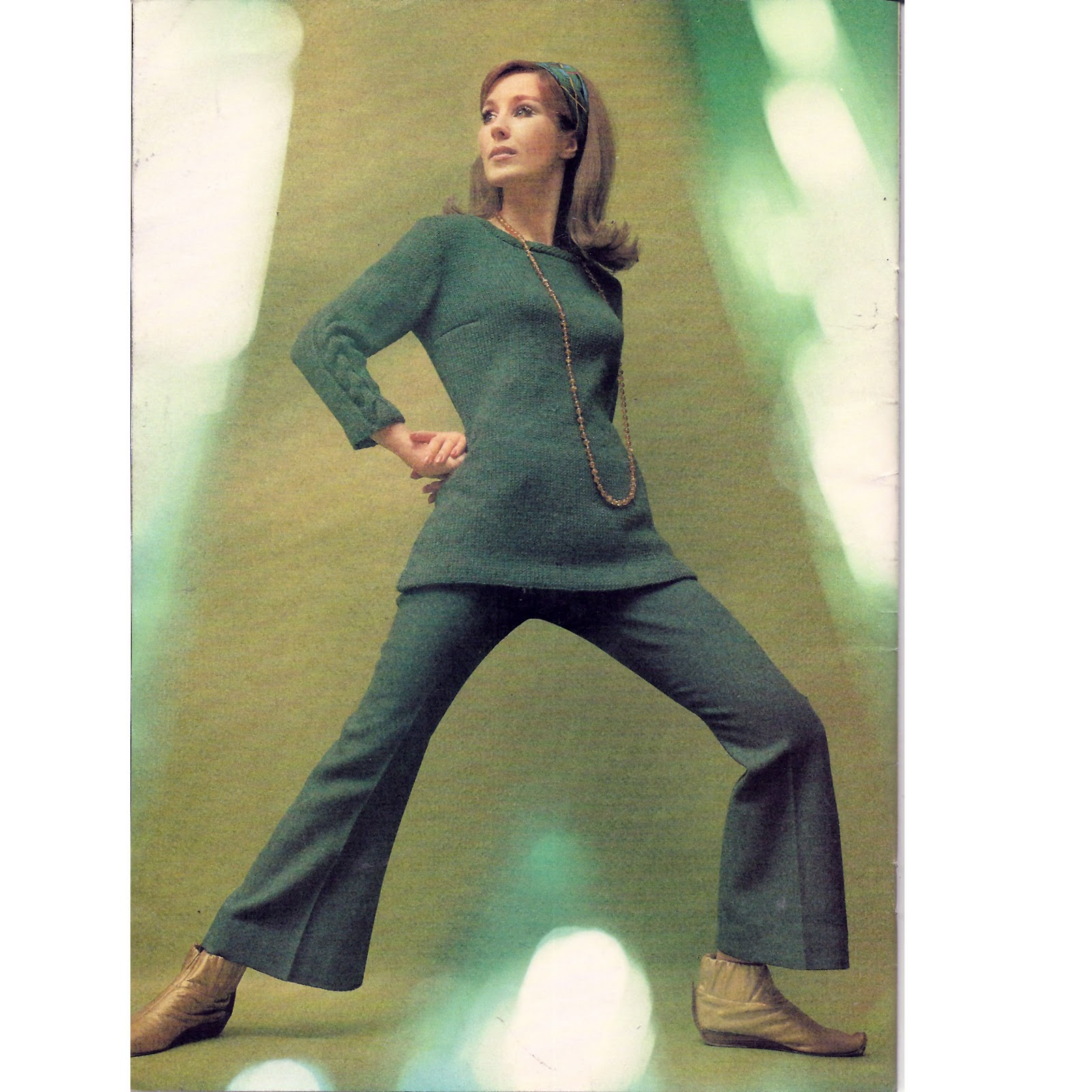 Old Fashioned Knit Tunic Pattern Ensign - Blanket Knitting Pattern ...