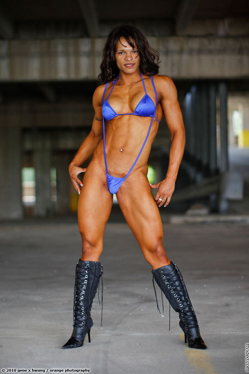 Jennifer Robinson Female Muscle Bodybuilding Blog FTVideo