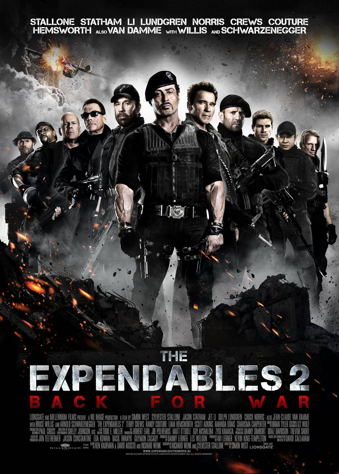 300 movies mkv: the expendables 2 (2012) bluray 720p 700mb