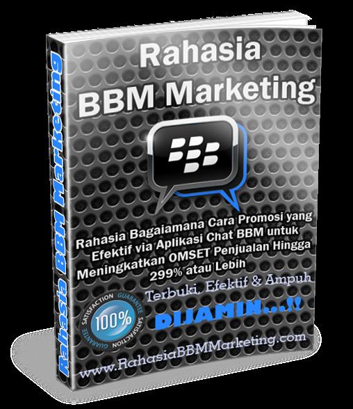 Marketing download gratis rahasia bbm ebook
