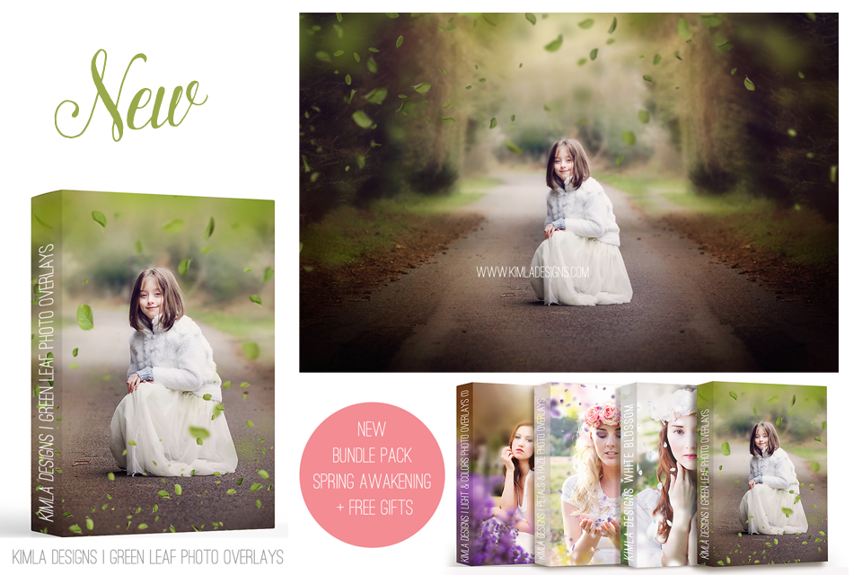 New Spring Photo Overlays