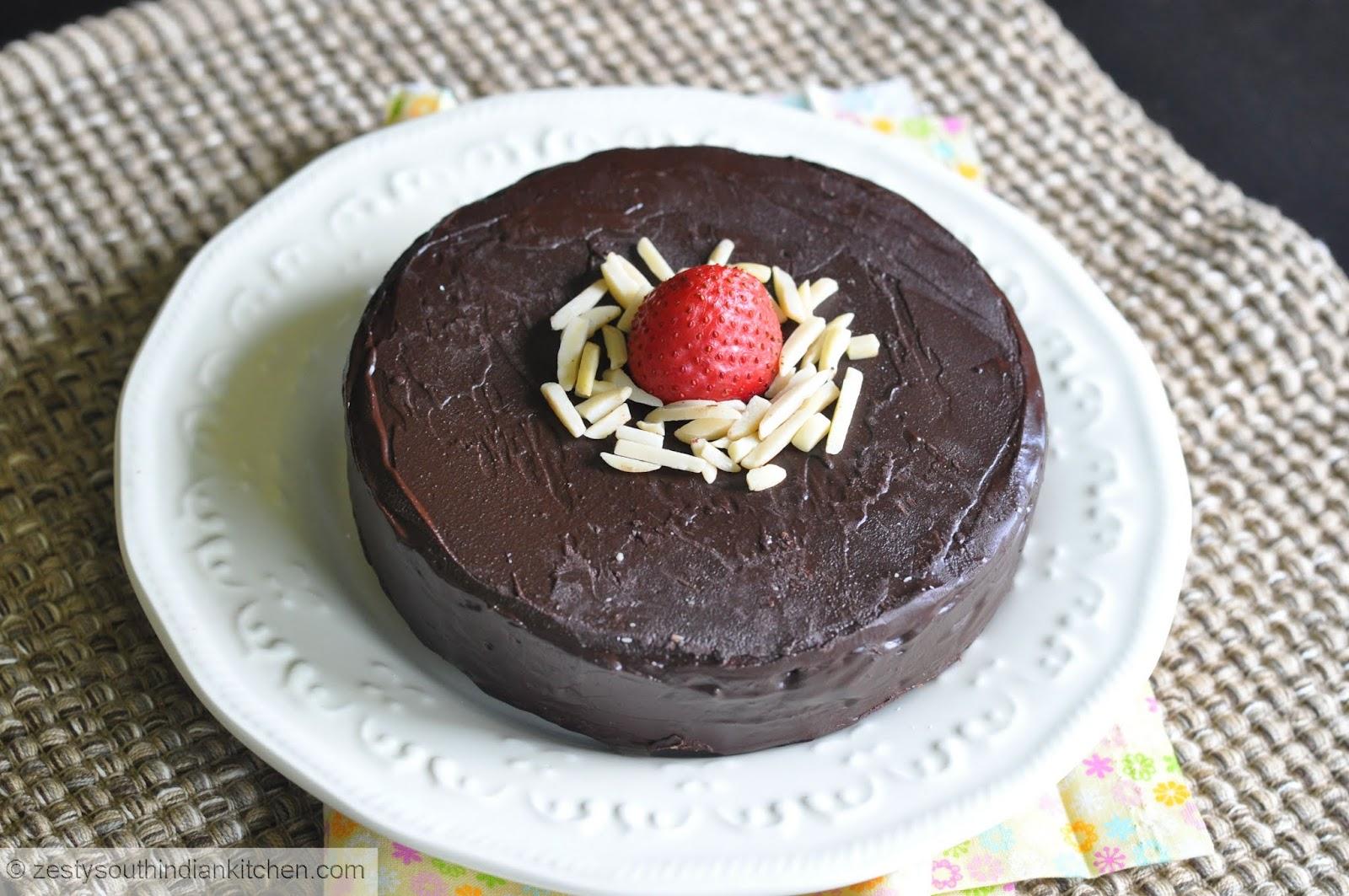 Julia Child Chocolate Almond Cake Youtube