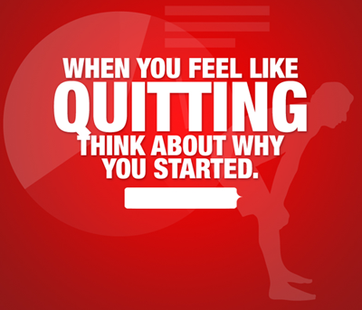 Don't quit, Fitness motivation, keep going, workout