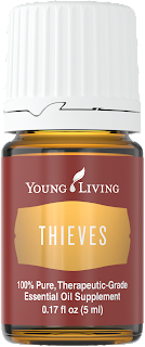 How to use #Thieves essential oil #compliant #YLEO