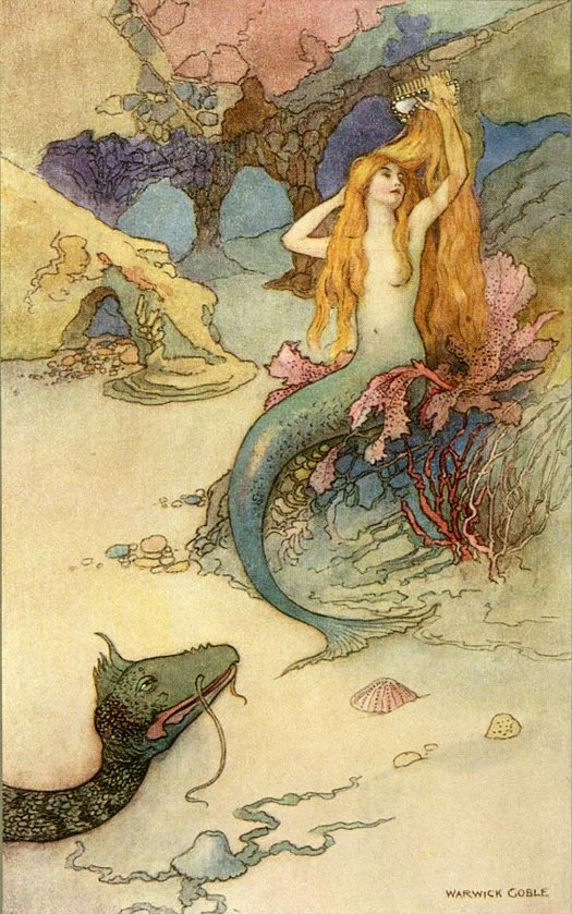warwick goble mermaid