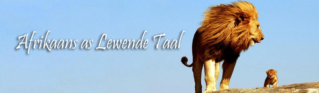 Afrikaans as Lewende Taal