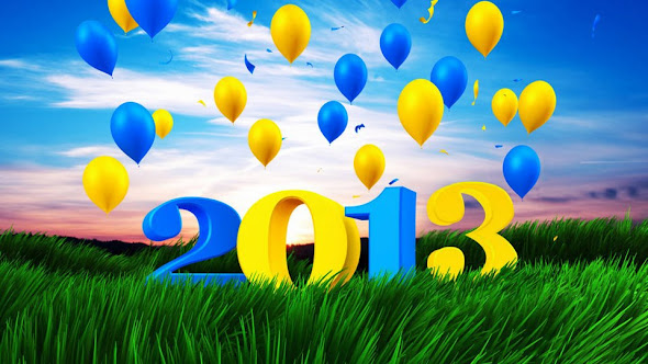 New Year 2013 Themes Wallpapers Download HD Wishes