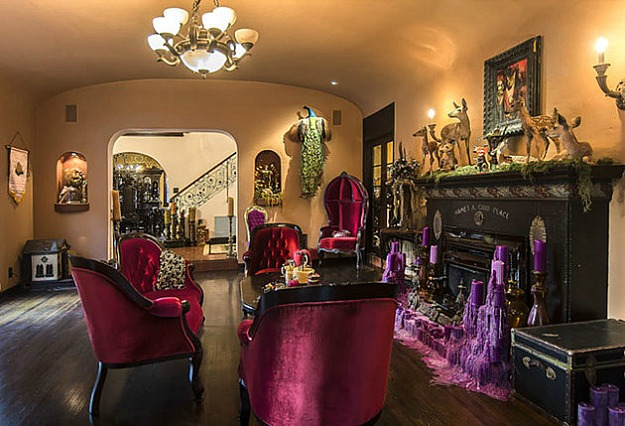 But The Dining Room Was Overdone, As Were Other Spaces I Thought. It Got Me  Thinking About Goth Interiors Done Well. And In My Opinion, If You Want An  ...