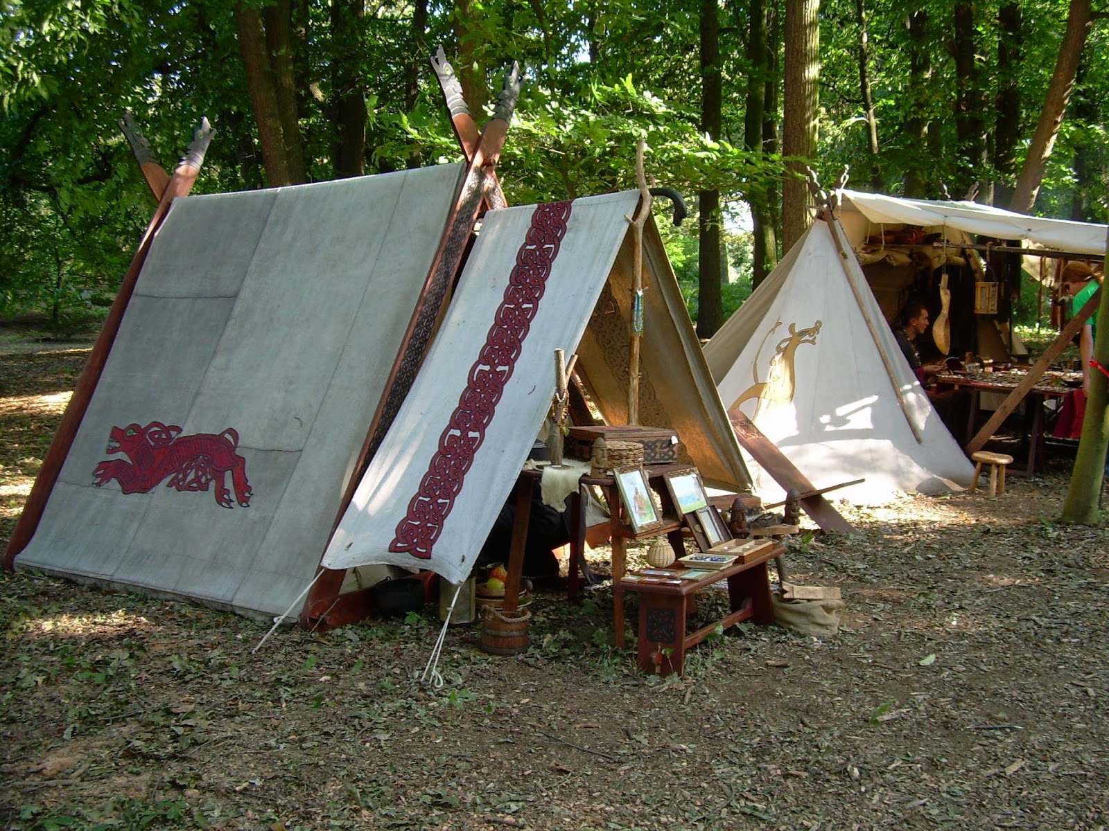 The Oak and the Antler: Viking Encampments