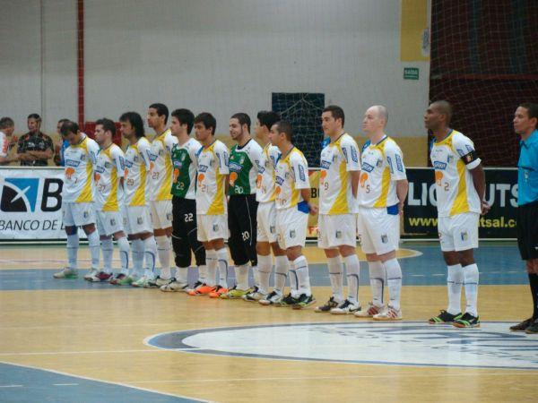 33b09e2d85 Após um empate em 4 x 4 no primeiro jogo valido pela segunda fase da Liga  Nacional de Futsal