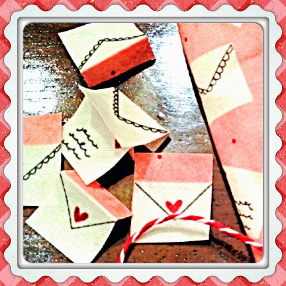 Valentine Mini Bunting Tutorial