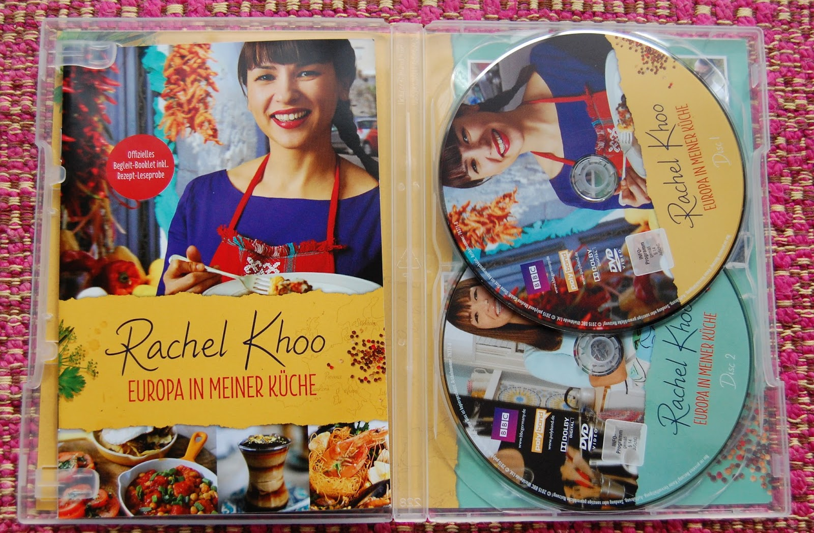 mugofstrongtea : Rachel Khoo \'Europa in Meiner Küche\' DVD review (in ...
