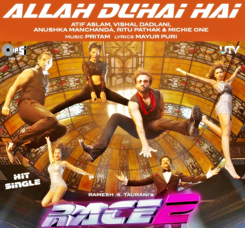 Allah Duhai Hai Race 2 Movie Theme Song video | Songs By ...