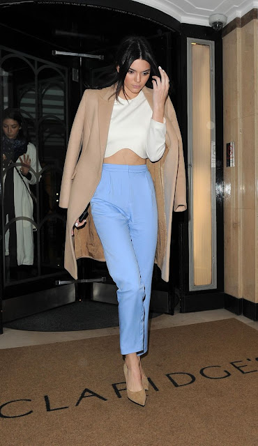 top cropped calca kendall jenner