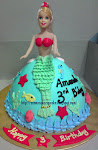 "3D Princess Cake (9"" Diameter)"