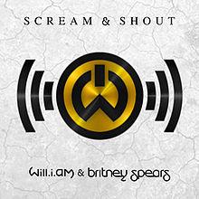 Portada del single Scream & Shout