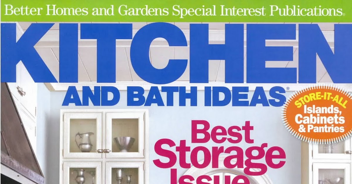 Shelter Featured In Better Homes And Gardens Kitchen