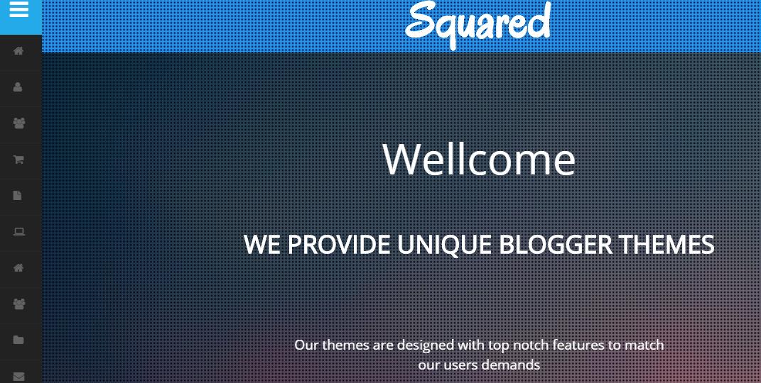 Download Squared Portfolio Free Blogger Template
