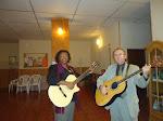 Mirian Santiago y Pr Ignacio ahora apoyando en la musica