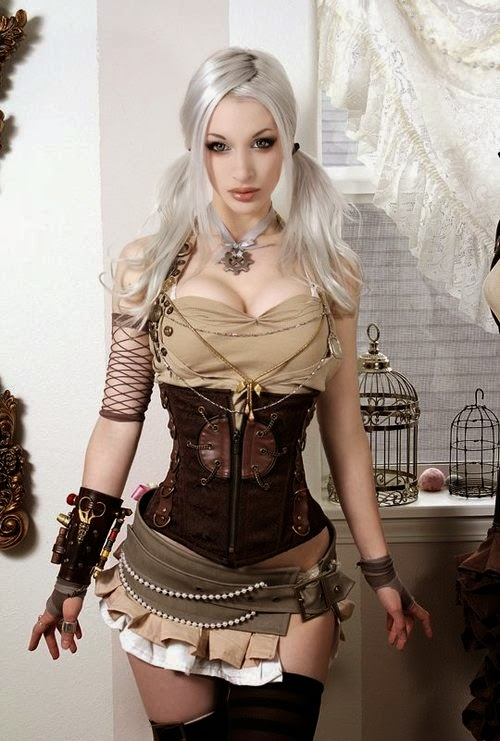 steampunk clothing fashion kato sexy women steamstress