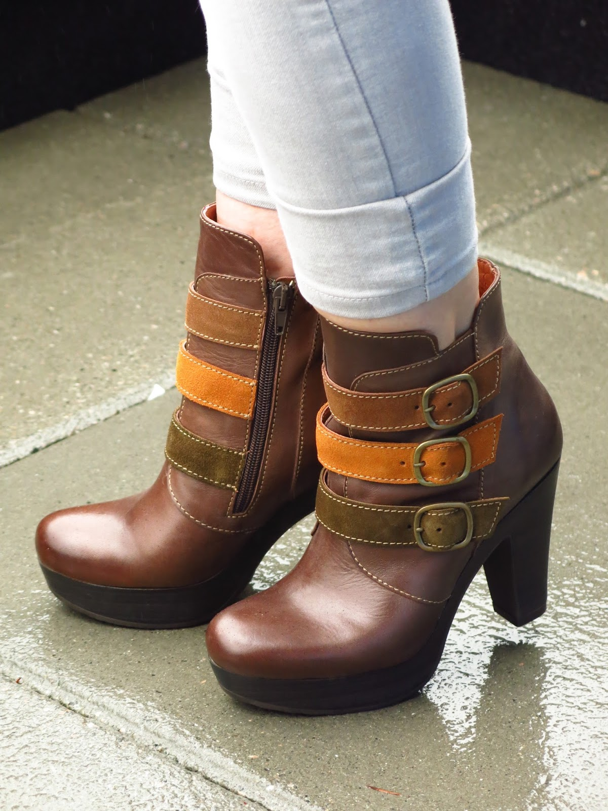 Bruna strap-embellished booties