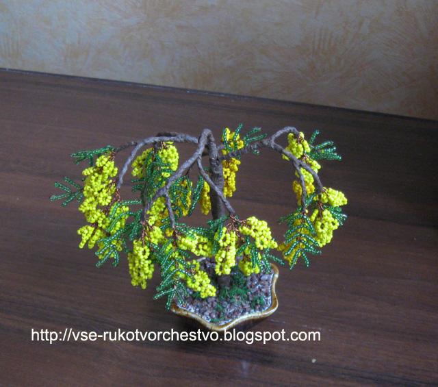 b Все РукоТворчество/b: Дерево b из /b бисера.