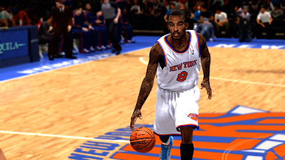 NBA 2K13 JR Smith Cyberface Mod