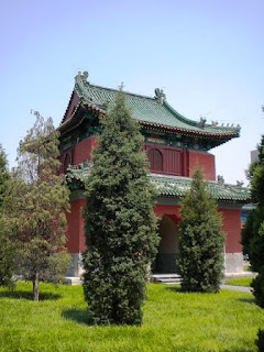 Tempat Wisata di Beijing - The Temple of the Moon (Kuil Bulan) Beijing China