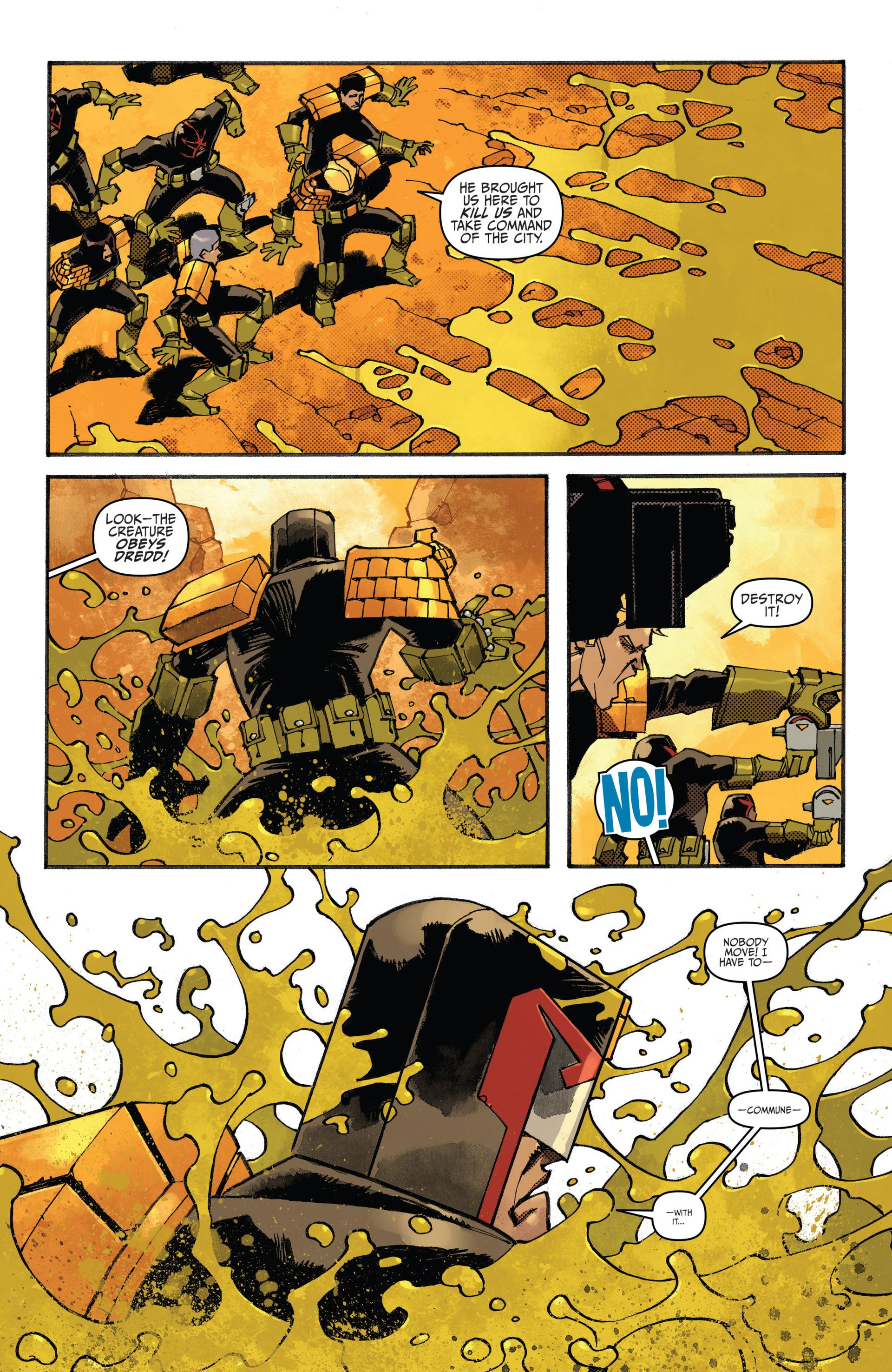 Read online Judge Dredd (2012) comic -  Issue #20 - 5