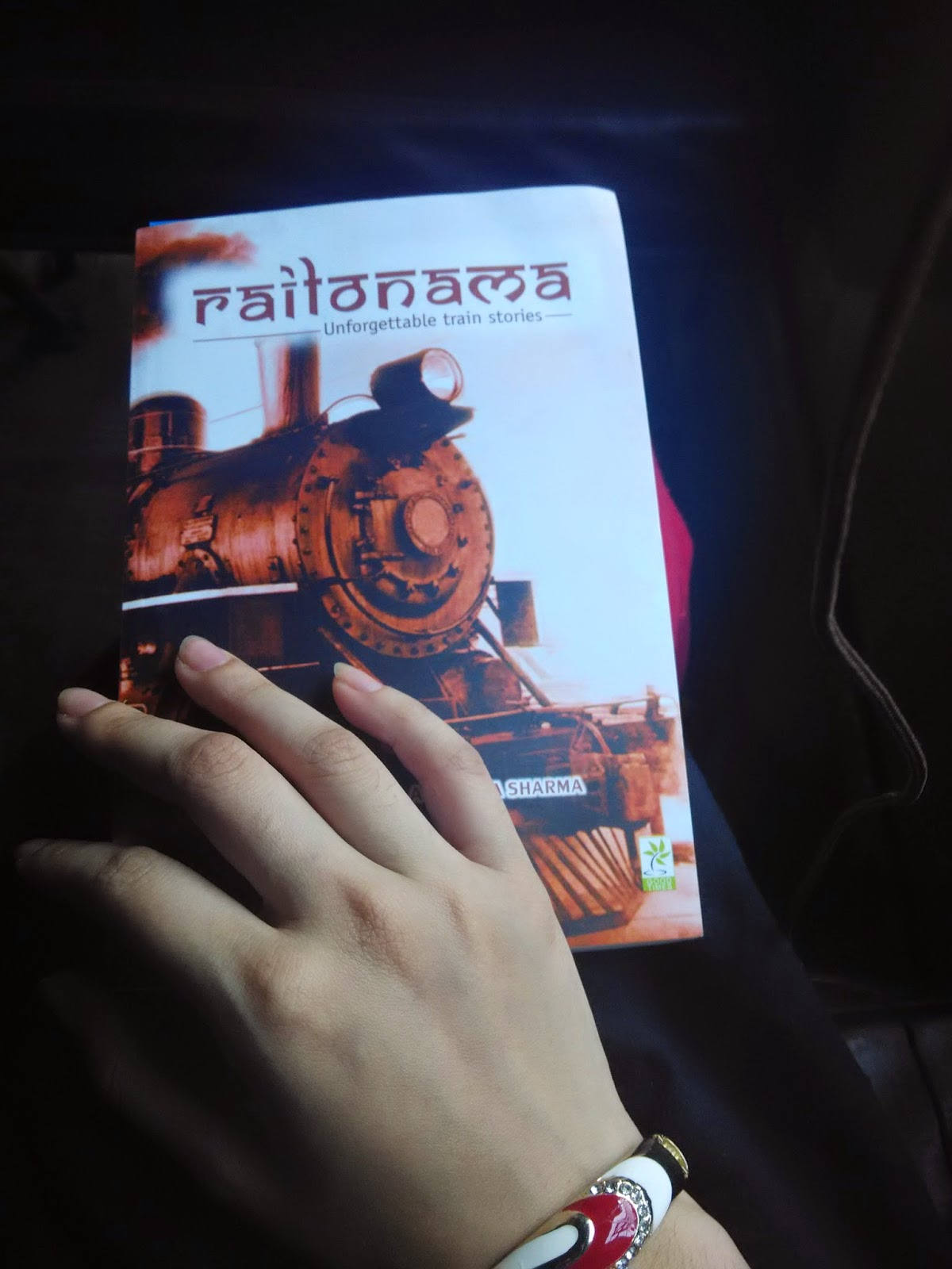 railonama, book review, indian authors, anupama sharma, railonama review, blogger review, blogadda, good reads