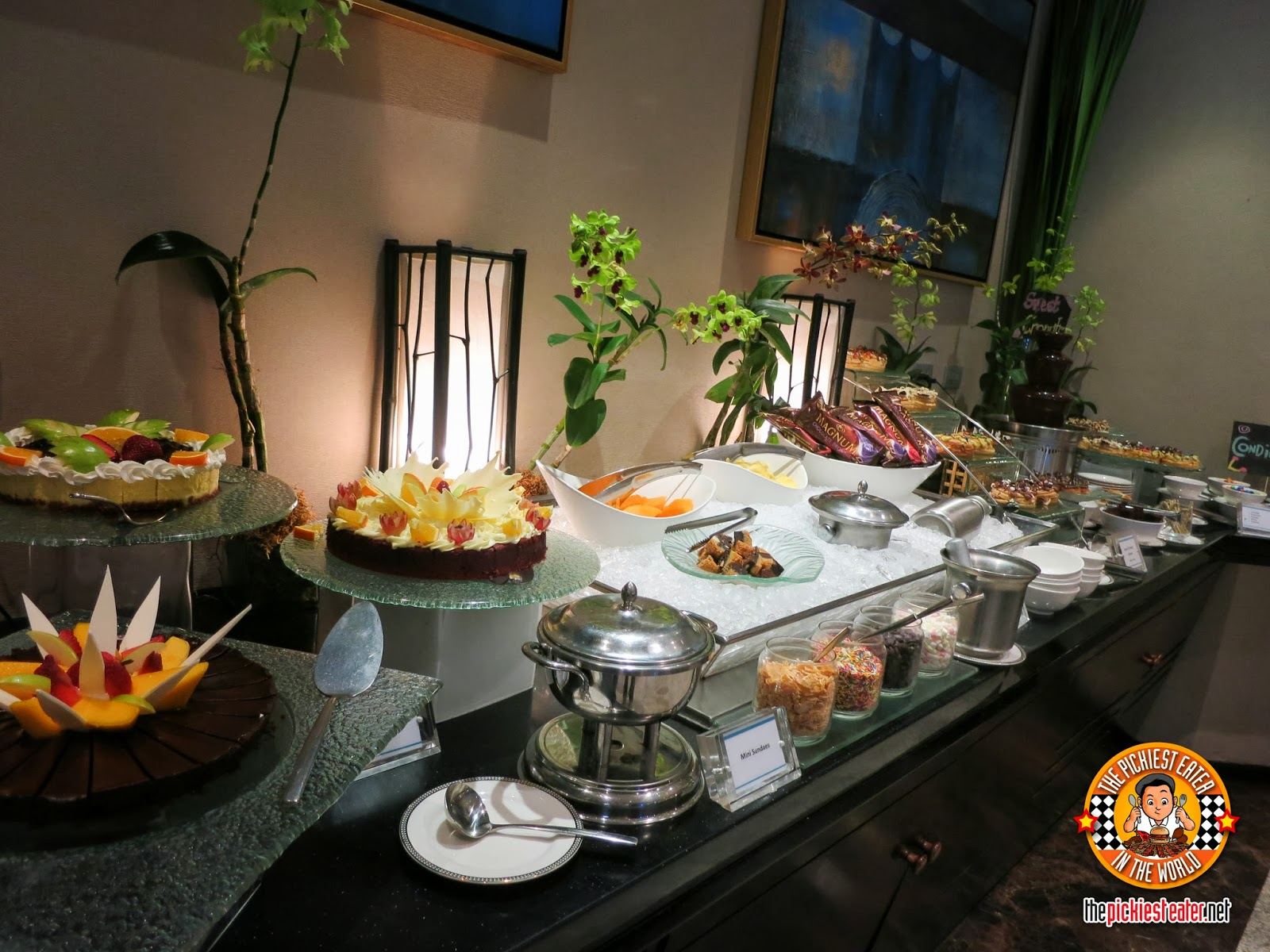 dessert buffet at oakwood premier