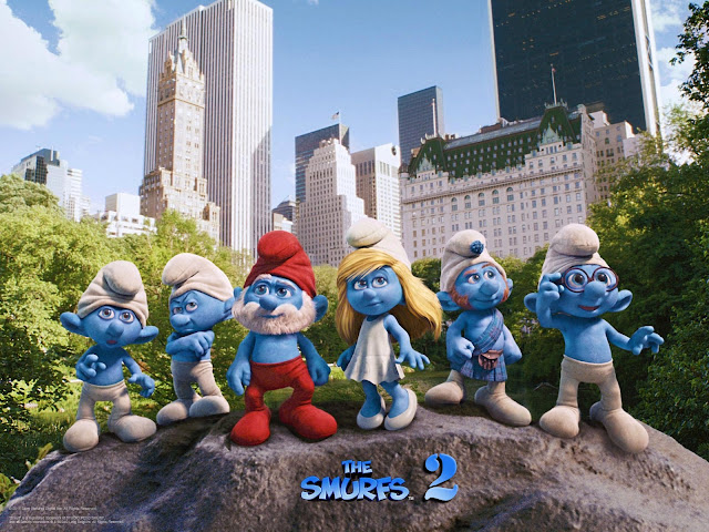 Smurfs 2 2013 Movie Poster