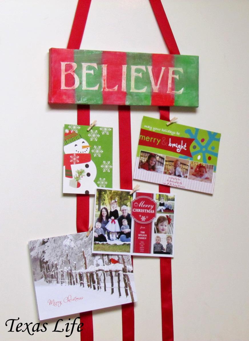 8th Street Bridge Christmas Card Holder