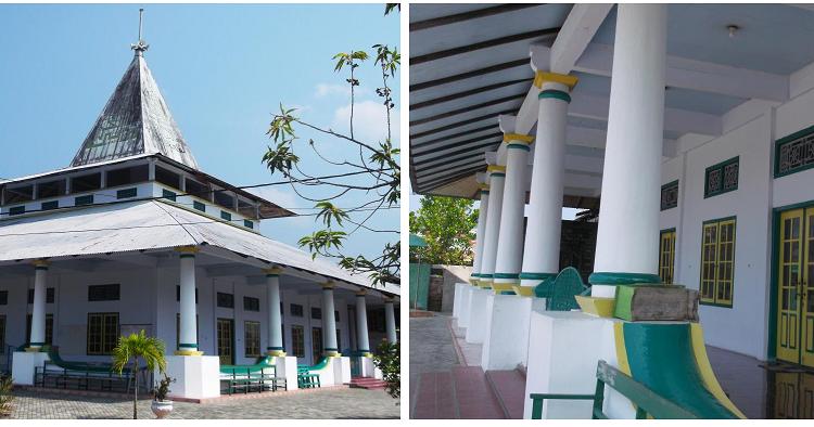 Mesjid Sultan Bacan Wisata Sejarah Pulau Bacan Halmahera Selatan Pariwisata Indonesia