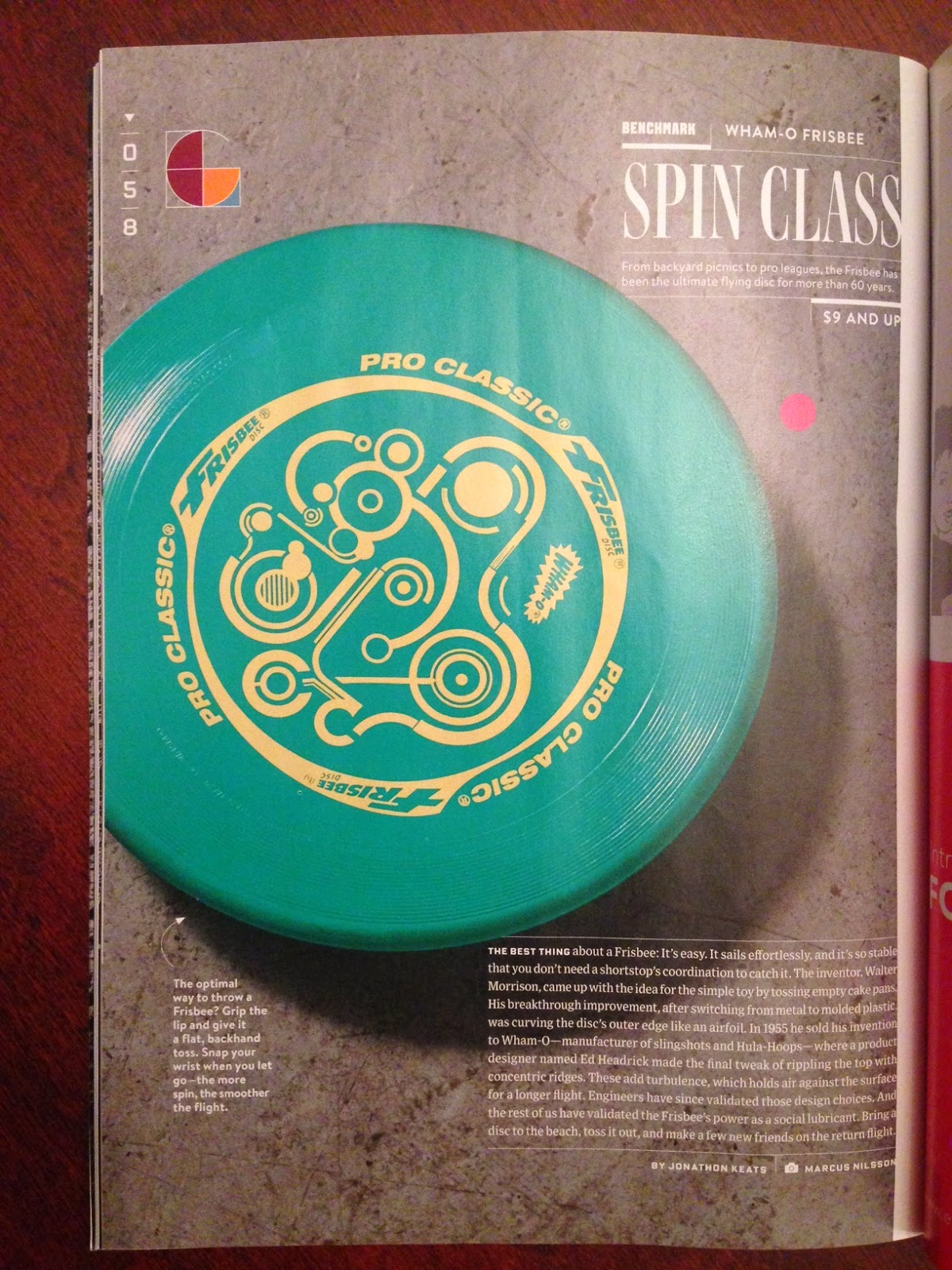 Sludge Output: Frisbee Spotlighted in WIRED