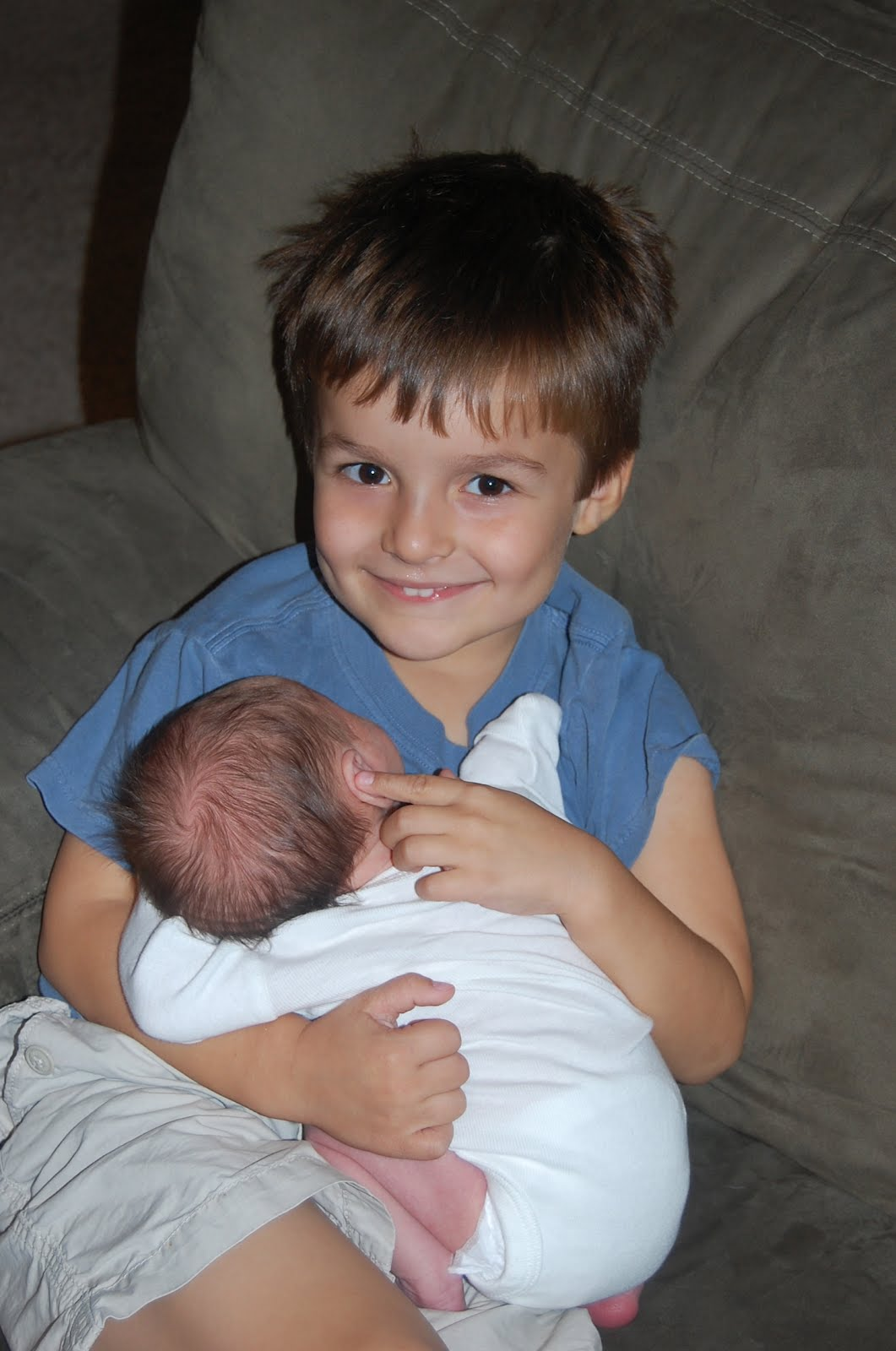 Luke continues to be an amazing big brother! (So does Jack!)