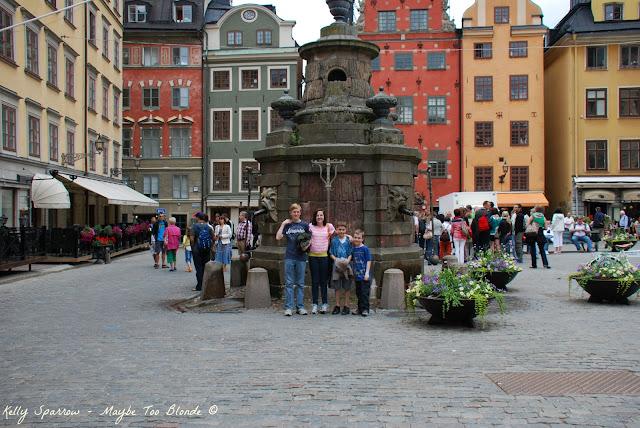 Old Town Square, Stockholm Sweden