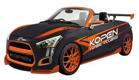 Daihatsu Kopen Concept Showcase in January