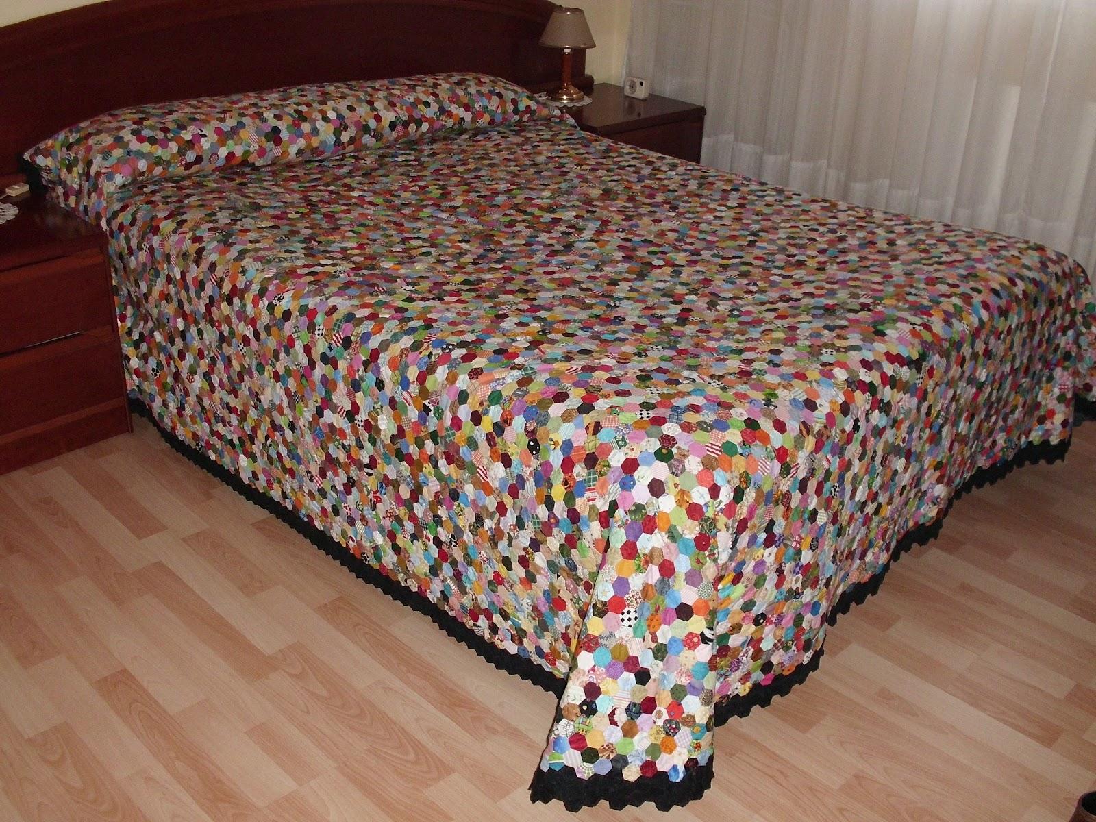 Espe patchwork septiembre 2012 - Como hacer colchas de patchwork ...