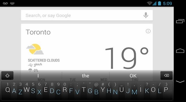 Minuum Keyboard apk - Screenshoot