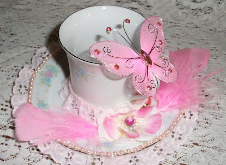 Tea Cup Candy Dish