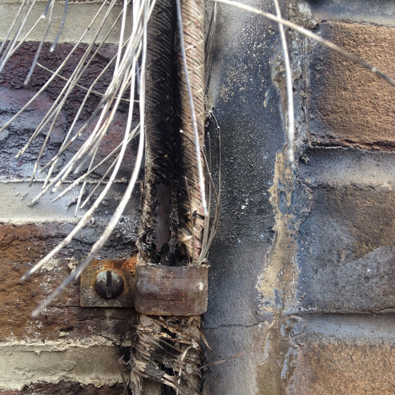 wiring failure, frayed, burned out wiring, PECO wire