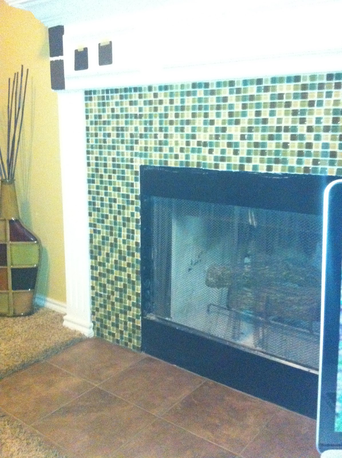 Marriage At Work: Mosaic Glass Tile