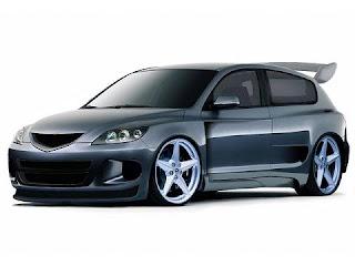Mazda 3 gris